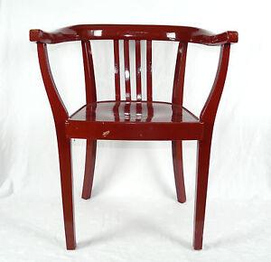 armlehnstuhl schreibtischstuhl stuhl art deco gropius. Black Bedroom Furniture Sets. Home Design Ideas