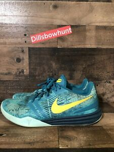 0df916d7068d Men s Nike Kobe Mentality Size 11 Teal Green Basketball Shoes Mamba ...