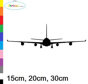 Plane Sticker Car Wall Decal Aviator linienmaschiene Airbus Boing 153//2