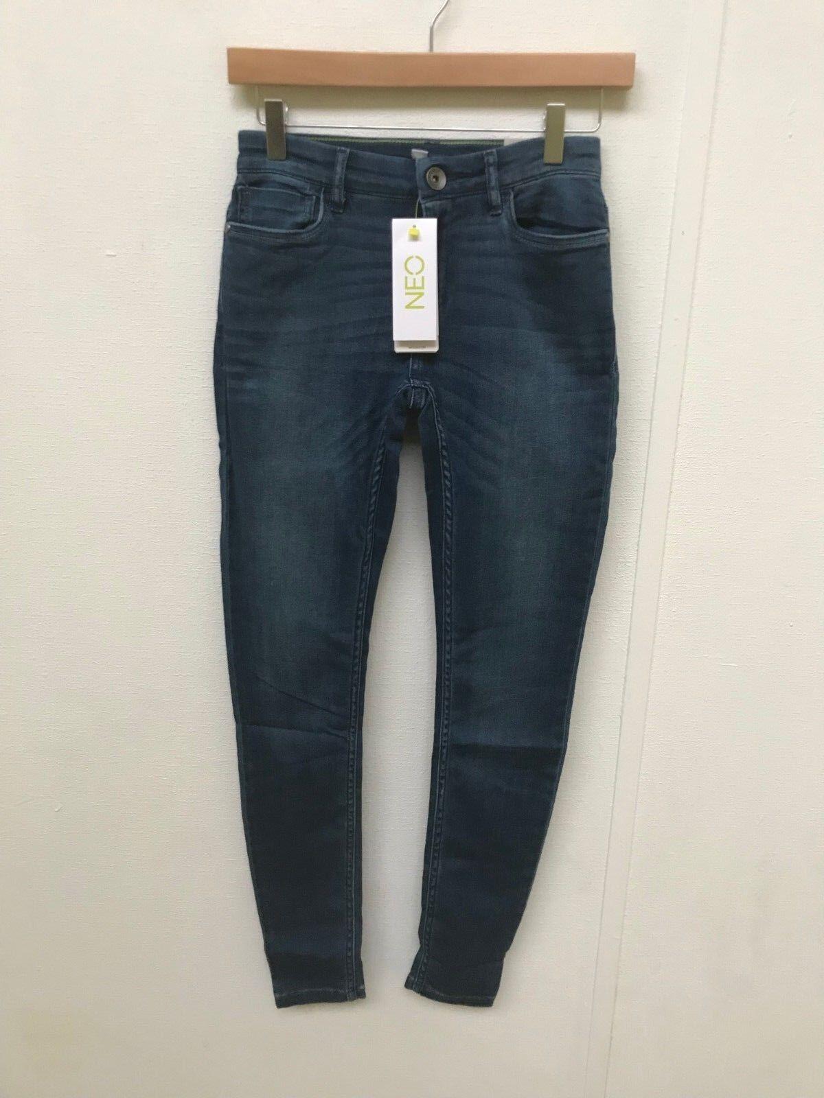adidas NEO Női Super Skinny Fit Jeans - W26 L30 - Denim - Új