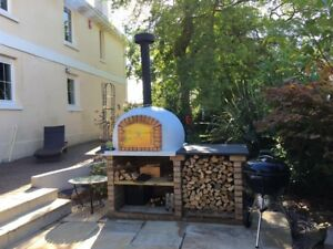 Image Is Loading Brick Outdoor Wood Fired Pizza Oven 1000mm Amigo
