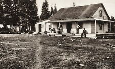 1925 Vintage CANADA ~ Hudson Bay Company Saskatchewan Workers House Photo Art