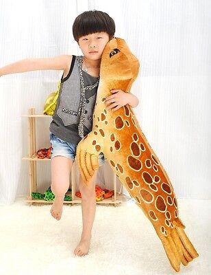 "100CM/39"" BROWN seal/sea dog Plush Stuffed Animal Doll Soft Toy Pillow/Cushion"