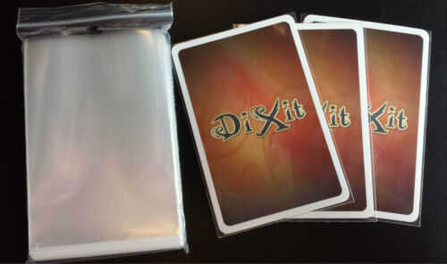 Size 80x120 100 PCS Dixit MTL Card Sleeves BEU Planet Steam,.. I Hate Zombies