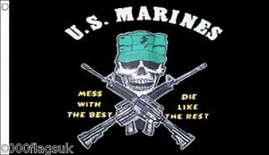 US-Marines-Mess-With-The-Best-Die-Like-The-Rest-5-039-x3-039-Flag