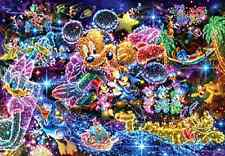1000 piece jigsaw puzzle Stained Art Disney wish to starry sky 51x73.5cm