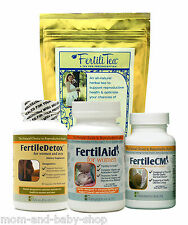 FAIRHAVEN HEALTH LITTLE BUNDLE FOR HER COMPLETE KIT FERTILAID FERTILECM FERTILIT