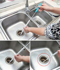 Waste Pipe Cleaner,Drain Unblocker,Flexible,Sink Bath Toilet Snake Rod,Plug Hole
