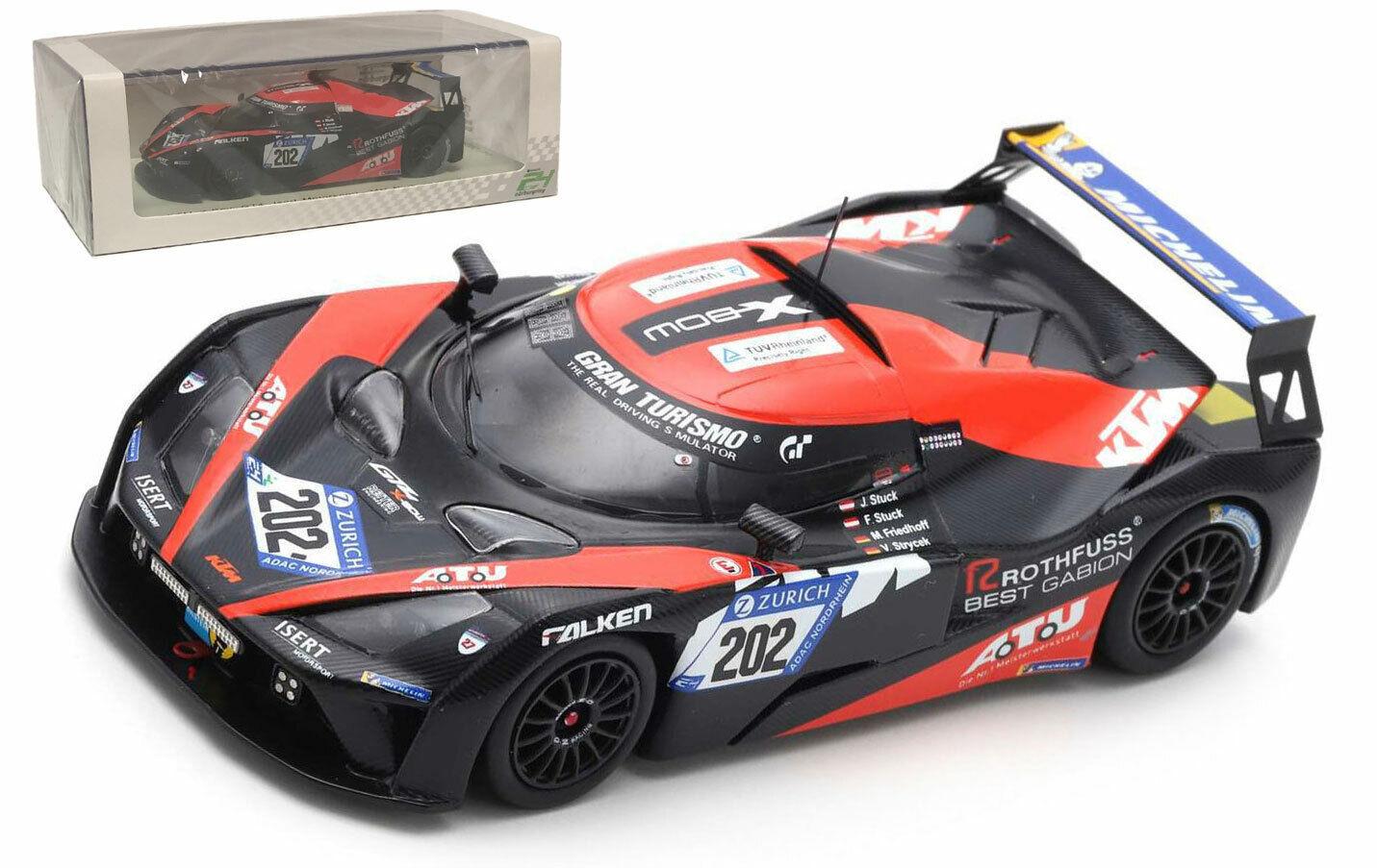 SPARK SG415 KTM X-Bow GT4  202 Isert Motorsport 24 H Nurburging 2018-échelle 1 43