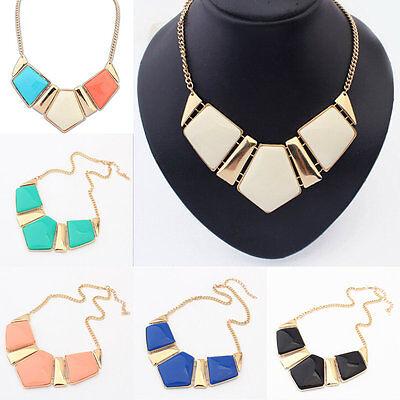 Fashion Chain Necklace Pendant Statement Choker Chunky Bib Collar New Jewelry