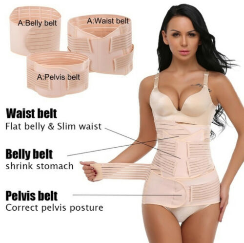 Postpartum Support Recovery Belly//Waist Belt Shaper After Pregnancy Maternity UK