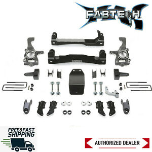 "Fabtech Heavy Duty 4"" Lift Kit System Fits 2017-2020 Ford F150 Raptor 4WD"
