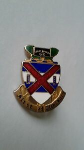 Authentic-US-Army-13th-Infantry-Regiment-DI-DUI-Unit-Crest-Insignia-IE