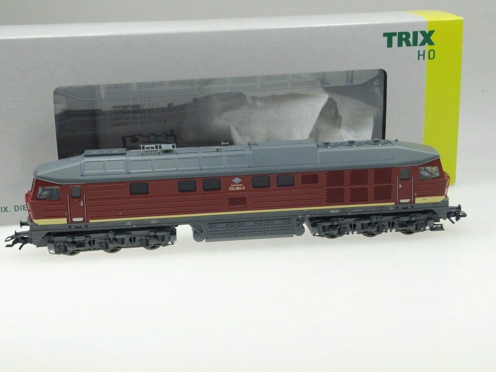 (87 506) Trix H0 Locomotora Diésel Br 232 284-0  Ludmilla  Dr (Art Nr.22067) AC