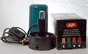 AP Darkroom Safelight  Green with  on/off switch