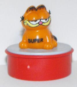 Garfield-Sitting-034-Super-034-Red-Ink-Stamp-GARF410