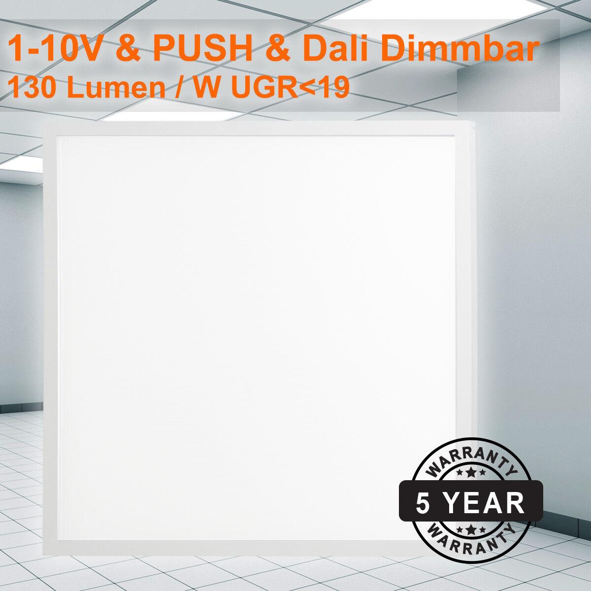 LED Einlegepanel 62x62 38W (W) Warmweiß UGR19 1-10V&Dali  | Räumungsverkauf