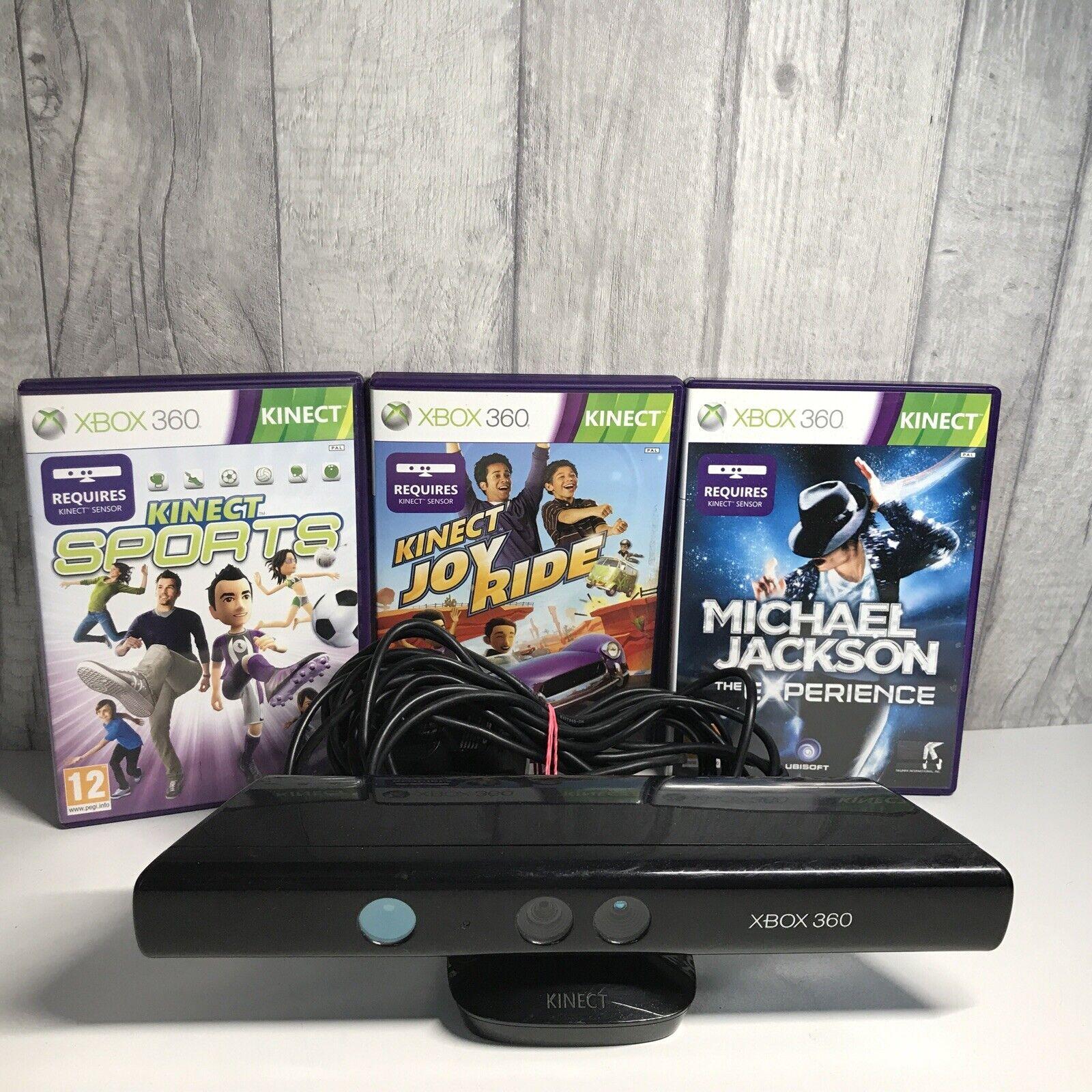 Xbox 360 Kinect Sensor Bundle with 3 Games And AC Adaptor - Microsoft