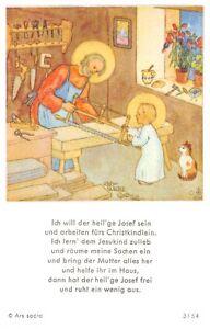 "Initiative Le Zèle Photos Icône Gebetbild ""ida Bohatta"" Holy Card Ars Sacra ""h223""-afficher Le Titre D'origine AgréAble Au Palais"