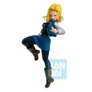 DRAGON BALL FIGHTERZ ANDROID 18 THE ANDROID BATTLE BANPRESTO NEW. PRE-ORDER