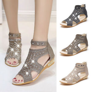 d37c6162a Image is loading Spring-Summer-Fashion-Women-Wedge-Sandals-Fashion-Fish-