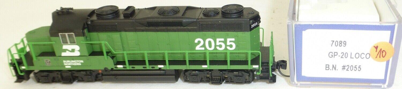 Life like 7089 Burlington Northern 2055 Gp-20 Diesel Locomotive