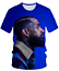 Fashion-Women-Men-3D-Print-Rapper-nipsey-hussle-Casual-T-Shirt-Short-Sleeve-Tops thumbnail 8