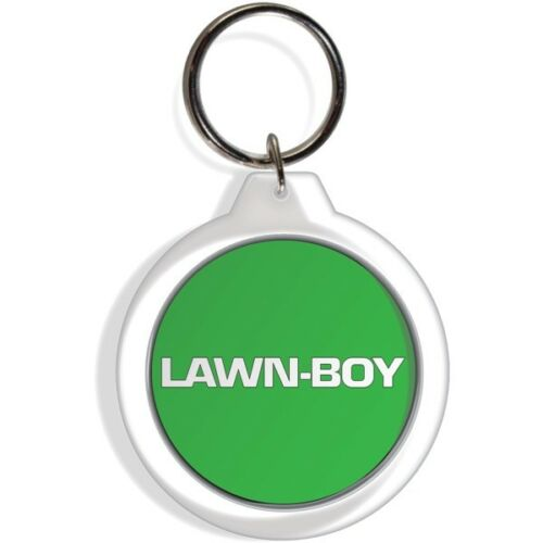 LAWN BOY LAWN MOWER GARDEN TRACTOR FARM KEYCHAIN KEY FOB RING KEYRING
