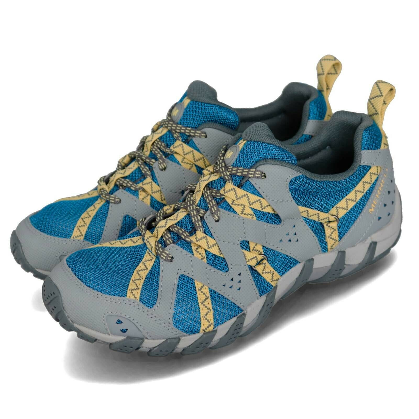 Merrell Waterpro Maipo 2 bluee Grey Lemon Women Outdoors Hiking Water shoes J19582