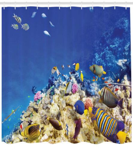 Duschvorhang Karibische Seelandschaft Unterwasser