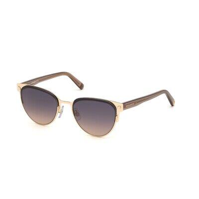 Occhiali da Sole DSQUARED2 DQ0271 oro nero lucido blu sfumato  01W