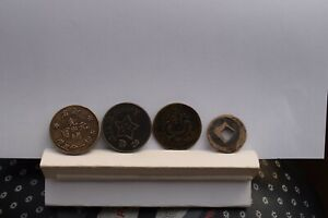 4 x Chinese / Oriental coins / tokens