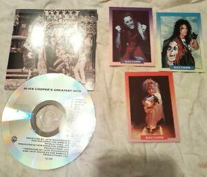 Alice-Cooper-Greatest-Hits-CD-brockum-rock-card-set-FREE-SHIPPING-usa-Canada