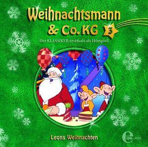 WEIHNACHTSMANN-amp-CO-KG-VOL-3-ORIGINAL-HORSPIEL-LEONS-WEIHNACHTEN-CD-NEW