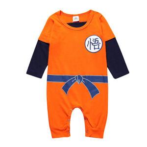 feinste Auswahl ec830 4d585 Details about kinder Toddler Baby Jungen Mädchen Dragon Ball Goku Strampler  Romper Kleidung