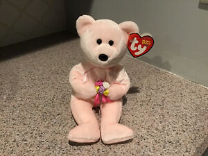 Ty Beanie Baby - DEAR the Bear Hallmark Exclusive non smoking home used