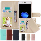 Removable Leather Wallet Case Magnet Card Slot Phone Bag Cover for iPhone 7 Plus