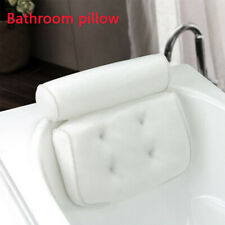 Bath Pillow Bathtub Cushion Spa Mesh Neck Back Support Great Relax 3D US G0A3