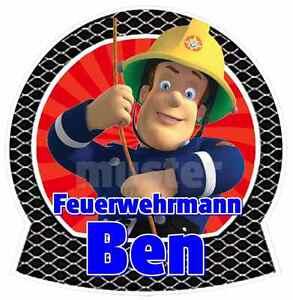 FEUERWEHRMANN-SAM-Nr6-BLAU-AUFNAHER-APPLIKATION-z-B-fuer-JEANS