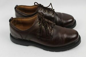 Low Cut Brown Leather Boots 95505 | eBay