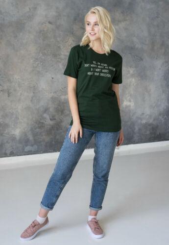 Vegan Protein T Shirt Slogan Funny Cute Organic Cotton Womens Girls Printed Tee