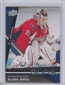 2009 10 Braden Holtby Upper Deck Young Guns Rookie Ud Yg Rc Capitals Ebay