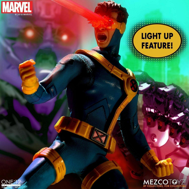 Mezco One 12 Collective Cyclops X-Men Action Figure NEW