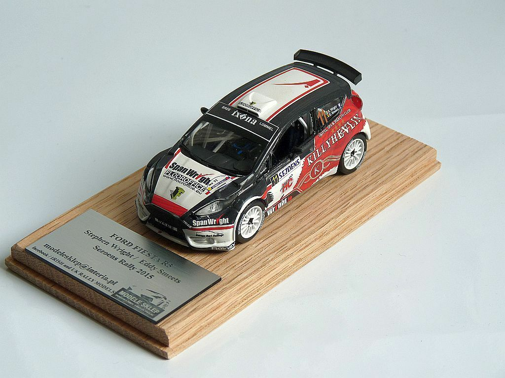 Wright Smeets FORD FIESTA r5 SEZOENS Rally 2015 Modele Model code 3 1 43