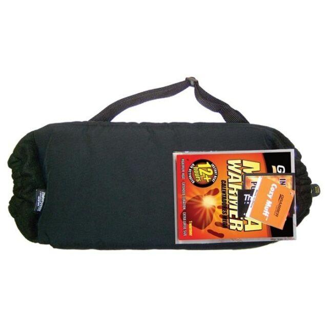 Hand Muff Nylon Shell Fleece Liner Black Grabber 1000BK for sale online