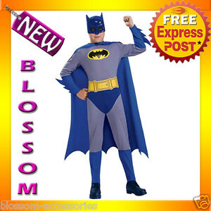 CK131-Licensed-Batman-Brave-amp-Bold-Toddler-Boys-Child-Superhero-Costume