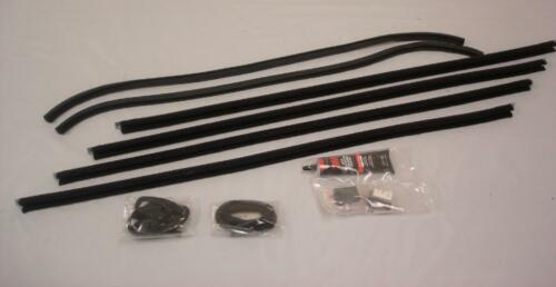 Ford Model A Tudor Coupe Truck Door Glass Window Channel Run Kit 1928 to 1931