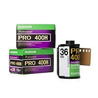 3x Fuji Fujifilm Pro 400 H 400h Kleinbildfilm 35mm 135-36 Analogfilm
