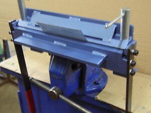 """Metal Manual Sheet Metal Bender 12"""" / 300mm / 2mm Folding Machine Bender Tool"""