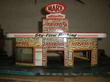 vintage Marx tin GAS service STATION